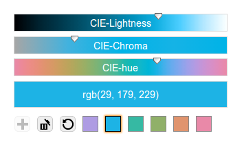 jQuery Color Picker Sliders